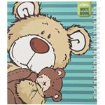 دفتر یادداشت کلیپس طرح تدی خرسه