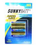 Sunny Batt باتری نیم قلمی 4 عددی اولترا آلکالاین سانی بت