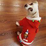 لباس سگ مدل کریسمس در ۳ سایز