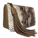 کیف لوازم آرایش چرم طبیعی گلیما مدل 261.2