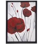تابلو نقاشی گالری سی پرشیا طرح گل های برجسته کد 201316