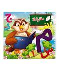 Naderi دفتر املا 50 برگ با جلد گلاسه سیمی و طرح کارتونی
