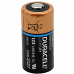 Duracell Ultra CR123A Lithium Battery