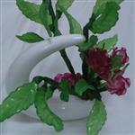 گلدان گل کریستال