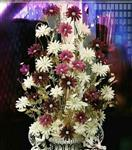 گلهای شاخه ای کریستالی