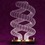 چراغ خواب سه بعدی  ویداوین مدل لامپ کم مصرف