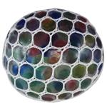Gel Bullets White Mesh Squish Ball Anti Stress Game Ball