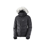 ژاکت کاپشنی زنانه ICETOWN JKT BLACK HEATHER سالومون – Salomon ICETOWN JKT W BLACK HEATHER