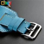 بند چرمی ساعت اپل واچ سایز 42mm طرح Hermès مدل Cuff برند Valkit