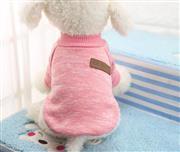 لباس سگ زمستانی بافتنی آستین دار (M)