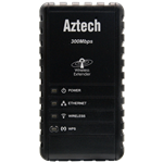 Aztech Wall-Plugged 300Mbps Wi-Fi Repeater