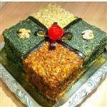 کیک بادمجان ارایه در شیراز