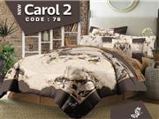 ست لحاف روتختی دونفره  سه بعدی زارا مدل Carol 2