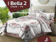 ست لحاف روتختی دونفره تنسل زارا مدل Bella 2