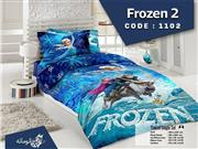ست لحاف روتختی سه بعدی مدل فروزن Frozen2