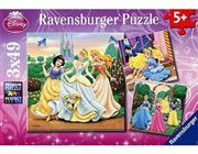 پازل 3x49 تکه RAVENSBURGER مدل  DPR Princess Dreams
