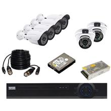 AHD Negron Retail Commercial Surveillance 6Camera Network Video Recorder