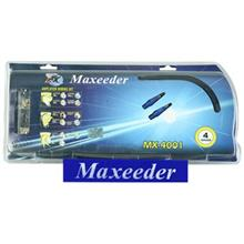 Maxeeder MX-4001 + 2RC Amplifier wiring Kit
