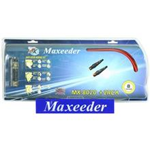 Maxeeder MX-8020 + 2RC Amplifier wiring Kit
