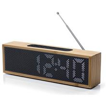 Lexon LA83 Bamboo Clock Radio