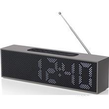 Lexon LA83 Titanium Clock Radio