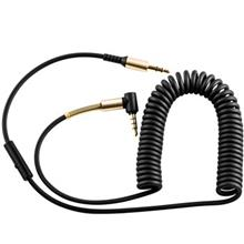 Hoco UPA02 AUX Spring Audio Cable With Controls 2m