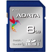 Adata Premier UHS-I U1 Class 10 50MBps SDHC - 8GB