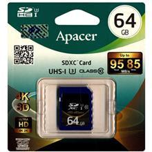 Apacer UHS-I U3 Class 10 95MBps SDXC - 64GB