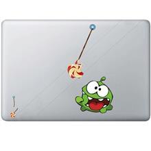 Wensoni Cut The Rope-Feed Me 1 MacBook Sticker