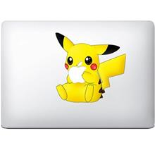 Wensoni Pikachu Bite MacBook Sticker