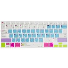 JCPAL Verskin Keyboard Protector With Photoshop Shortcuts For MacBook Air 13