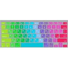 Wensoni Colorful Keyboard Sticker With Persian Label For MacBook