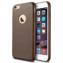 Spigen Leather Fit Cover For Apple iPhone 6 Plus