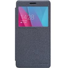 Nillkin New Leather Sparkle Flip Cover For Huawei 5X