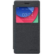 Nillkin New Leather Sparkle Flip Cover For Lenovo Vibe Shot