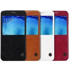 Nillkin Qin Leather Flip Cover For Samsung Galaxy A8
