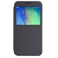 Samsung Galaxy E7(E700) Nillkin Sparkle Leather Flip Cover