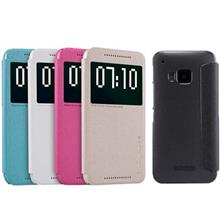 Nillkin New Leather Sparkle Flip Cover For HTC One M9