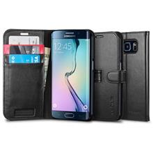 Samsung Galaxy S6 Edge Spigen Wallet S Flip Cover