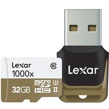 Lexar Professional UHS-II U3 Class 10 1000X microSDHC USB 3.0 Reader - 32GB