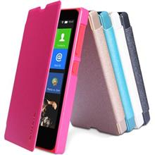 Nillkin New Leather Sparkle Flip Cover For Nokia X