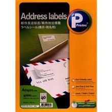 کاغذ يادداشت چسب دار پرينتک کد A0401 بسته 100 تايي