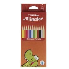 مداد رنگي 12 رنگ اليگيتور
