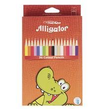 مداد رنگي 36 رنگ اليگيتور