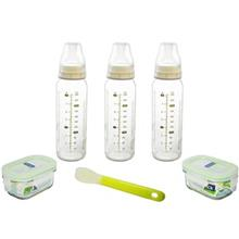 Glasslock IG 312 Baby Food Container Set