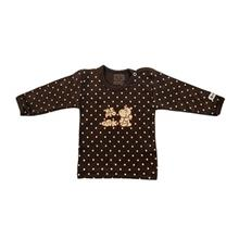 تي شرت آستين بلند نوزادي ندا و ساراگل مدل 1009
