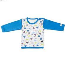 تي شرت آستين بلند نوزادي ندا و ساراگل مدل 1032