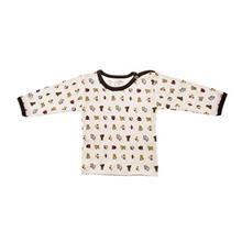 تي شرت آستين بلند نوزادي ندا و ساراگل مدل 1034