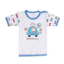 تي شرت آستين کوتاه نوزادي ندا و ساراگل مدل 1008