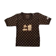 تي شرت آستين کوتاه نوزادي ندا و ساراگل مدل 1009